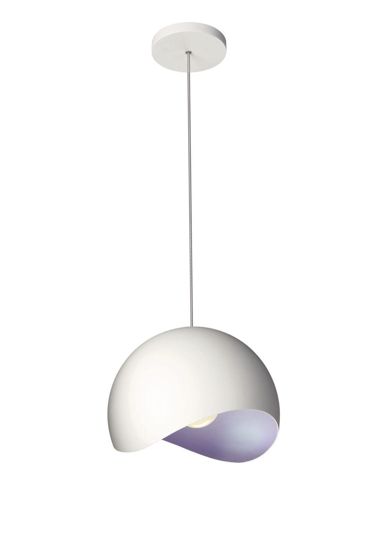 lampadario lilla : Lampadario a sospensione cupola lilla bianco... - Prodotti per la Casa ...
