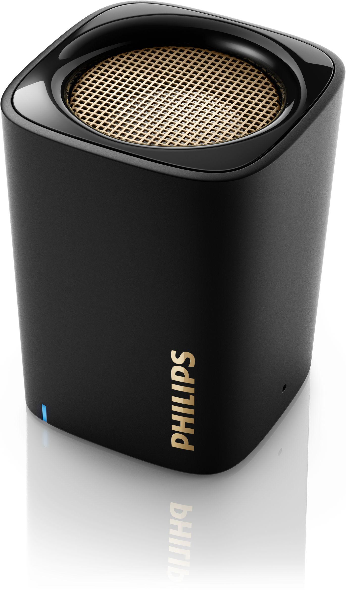Philips altoparlante wireless portatile bt100b 00 for Cassa bluetooth philips