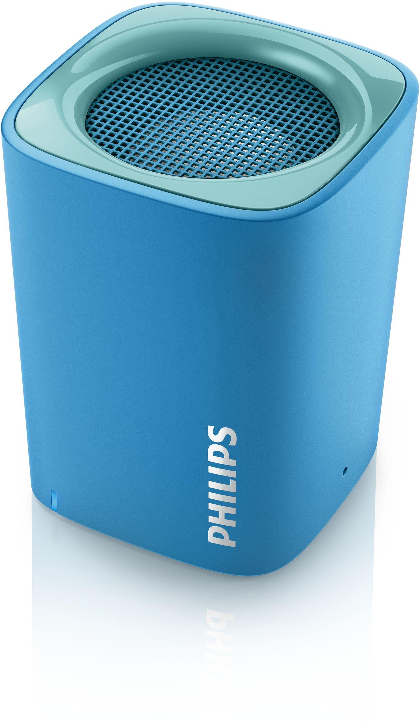 Philips altoparlante wireless portatile bt100a 00 for Cassa bluetooth philips