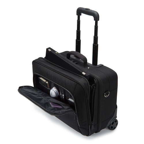 Dicota Eco Multi Roller Select 14-17.3 Trolley Nero Polietilene tereftalato PET