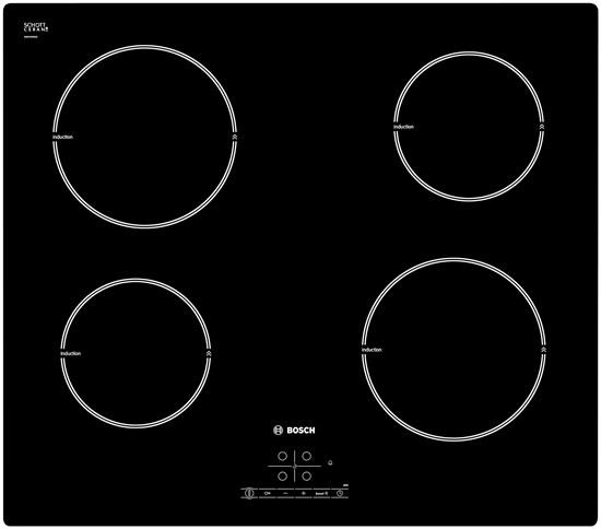 Bosch pia611b68j confronta i prezzi e offerte online for Piano cottura induzione bosch pia611b68j istruzioni